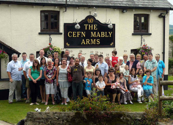 Head Family Reunion at Cefn Mably Arms